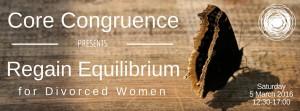 Regain Equilibrium for Divorced Women Banner
