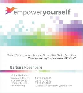 Barbara Rosenberg Card